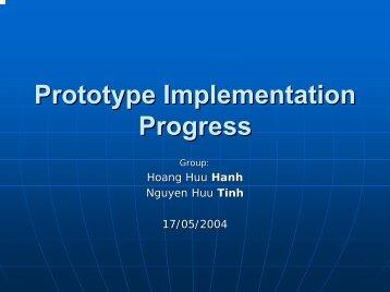 Prototype Implementation