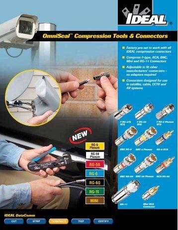 OmniSeal™ Compression Tools & Connectors - Ideal Industries Inc.