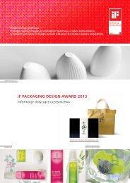 iF PACKAGING DESIGN AWARD 2013 - iF - International Forum ...