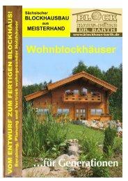 Telefon + Fax 0351 - Blockhaus Barth