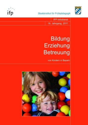 Heft 2011 - IFP - Bayern