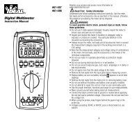 Digital Multimeter - Ideal Industries Inc.