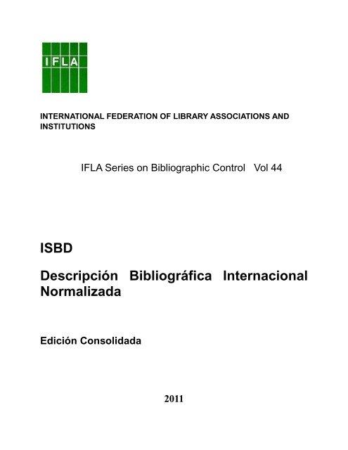 Consolidada De Isbd Ifla