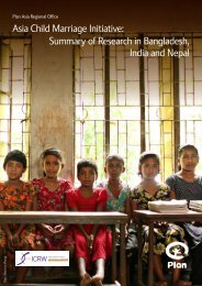 Asia Child Marriage Initiative: Summary of Research in ... - ICRW