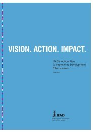 VISION. ACTION. IMPACT. - IFAD