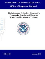 The Science and Technology Directorate's Processes ... - IEEE-USA