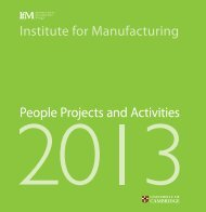 Download here - Institute for Manufacturing - University of Cambridge