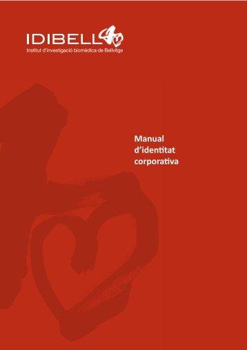 Manual d'identitat corporativa - IDIBELL