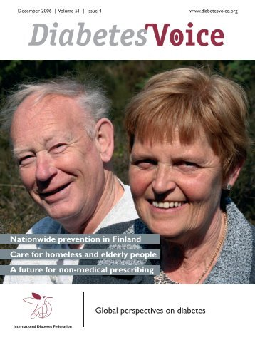 with diabetes - International Diabetes Federation