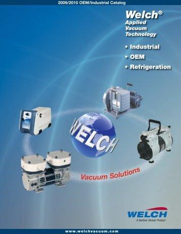 2005 OEM-Industrial Catalog 3 - Welch Vacuum