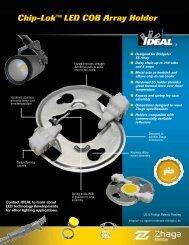 Chip-Lok™ LED COB Array Holder - Ideal Industries Inc.