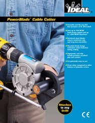 35-078 PowerBlade™ Brochure - Ideal Industries Inc.