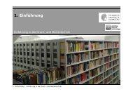 1. Einführung - IDD - Technische Universität Darmstadt
