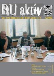 Das Info-Magazin der Biker Union eV 4/2008