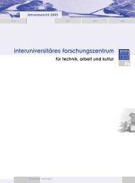 Jahresbericht 2003 - IFZ