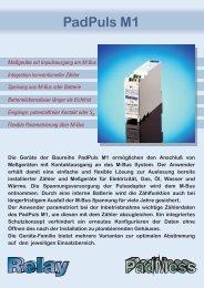 PadPuls M1 - Relay GmbH