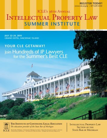 Intellectual Property Law - Institute of Continuing Legal Education