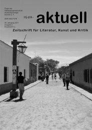 Heft 2 (2011) - Interessengemeinschaft deutschsprachiger Autoren eV