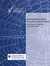 Integrating Human Rights in the Anti-Corruption Agenda - The ICHRP
