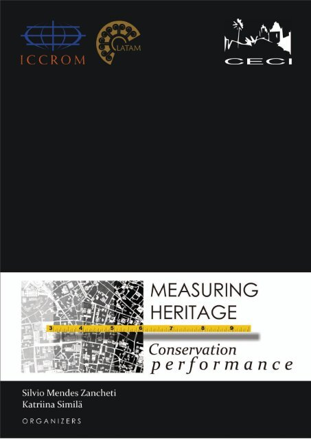 Measuring Heritage Conservation Performance Iccrom