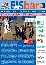 BG Karlsruhe : TV 1862 Langen