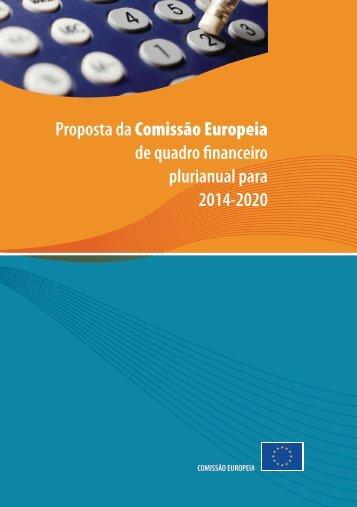 Proposta da Comissão Europeia de quadro financeiro ... - QREN