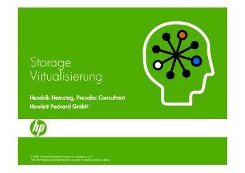 Storage Virtualisierung