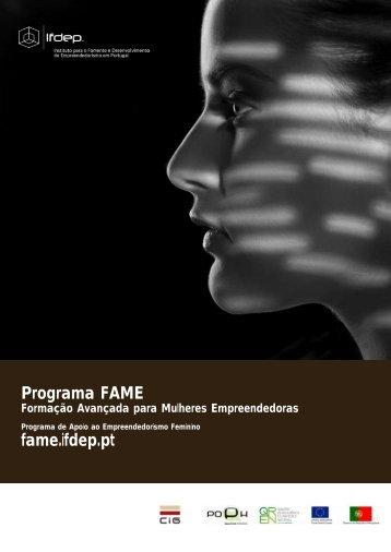 Brochura Informativa - Instituto de Gestão do Fundo Social Europeu