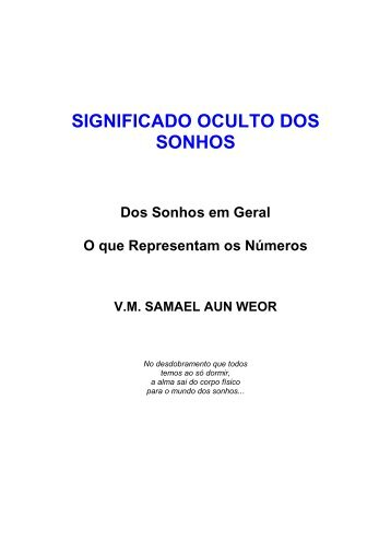 significado oculto dos sonhos - Iglesia Cristiana Gnóstica Litelantes ...