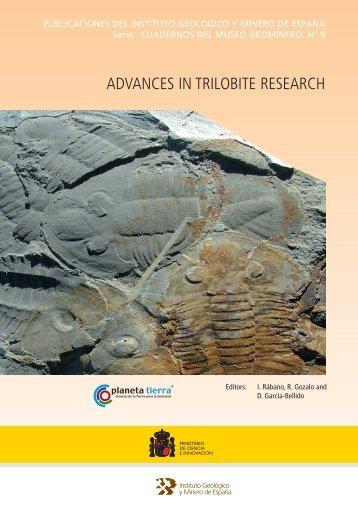 Advances in Trilobite Research - Instituto Geológico y Minero de ...