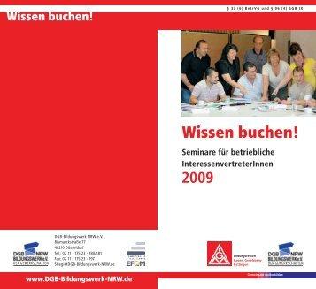 Wissen buchen! - IG Metall Gevelsberg Hattingen