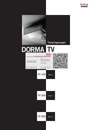 Dorma - Türverriegelungen TV1xx, TV2xx, TV5xx (PDF)