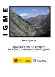 Textos reducidos: - Instituto Geológico y Minero de España