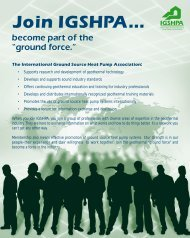Join IGSHPA...
