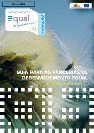 guia para as parcerias de desenvolvimento equal - Instituto de ...