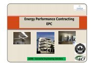 Energy Performance Contracting - Institute of Hospital Engineering ...