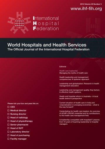00 cover vol48.3.ai - International Hospital Federation