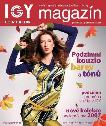 Zobrazit magazín v pdf - IGY Centrum České Budějovice