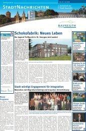 Amtsblatt Nr. 10/11 vom 22. Juli 2011 - Stadt Bayreuth