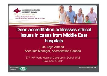 Sajid Ahmed.pdf - International Hospital Federation