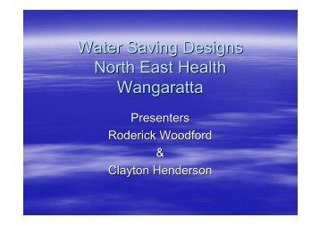 ROD Water Saving Designs NHW