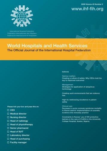 00 cover vol45.2.ai - International Hospital Federation