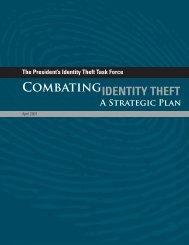 Presidents Intiative on Combating Identity Theft .pdf - International ...