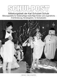 am 20. Juni 2012 um 10:00 Uhr im Rathauspark - Karl Schubert ...