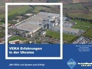VEKA Erfahrungen in der Ukraine - und Handelskammer Nord ...