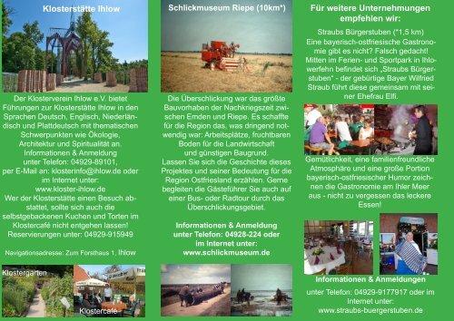 Herunterladen - Ihlow Tourismus