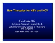 New Therapies for HBV and HCV - IHL Press