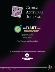 GLoBAL ANTIVIRAL JoURNAL - IHL Press