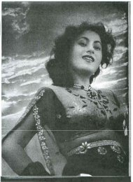 Theatre Arts, August 1952 - Hindi Movies / Films Songs