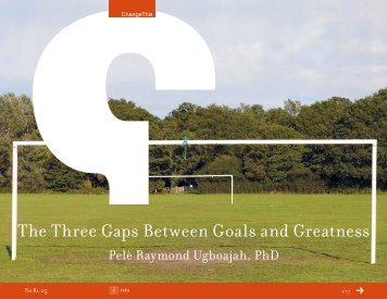 The Three Gaps Between Goals and Greatness - IHRIM